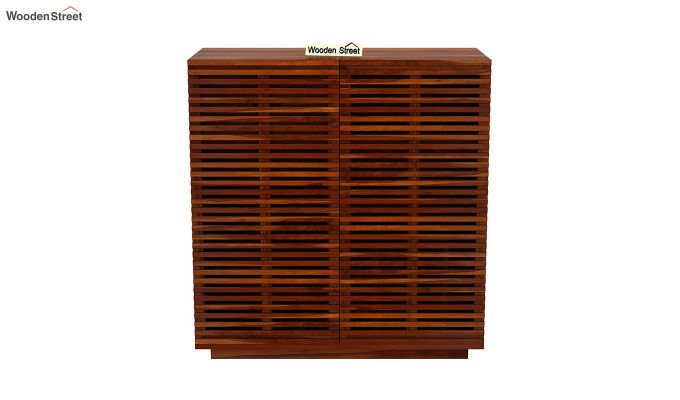 Milo Bar Cabinet (Honey Finish)-4