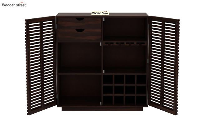 Milo Bar Cabinet (Walnut Finish)-6