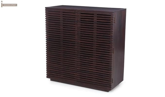 Milo Bar Cabinet (Mahogany Finish)-1