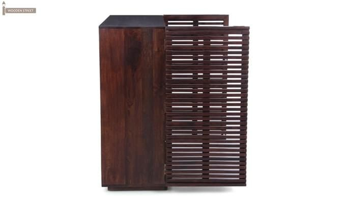 Milo Bar Cabinet (Mahogany Finish)-2