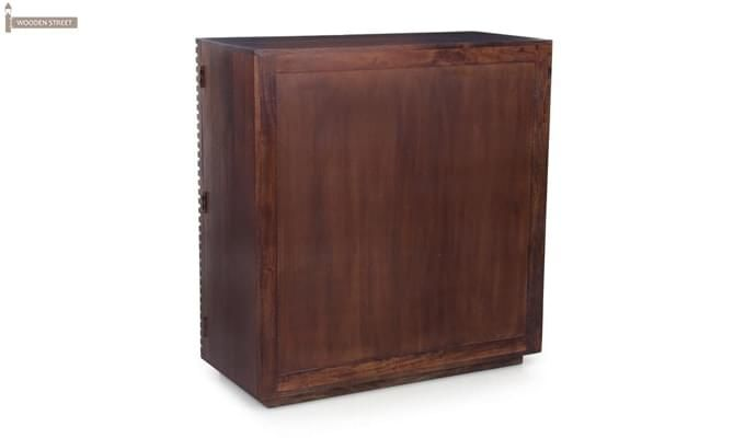 Milo Bar Cabinet (Mahogany Finish)-5