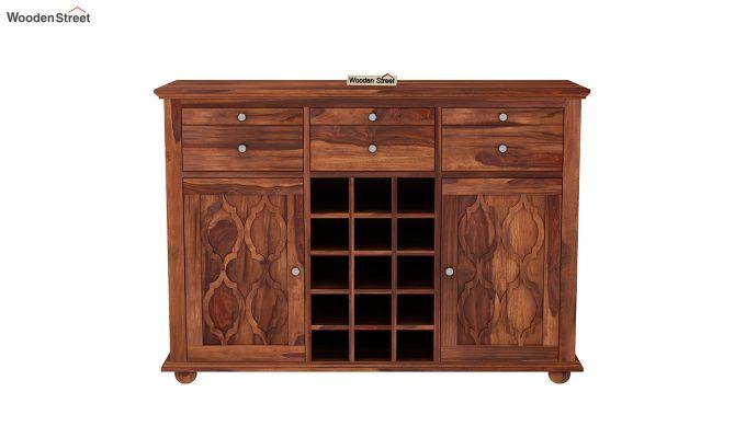 Montana Bar Cabinet (Honey Finish)-3