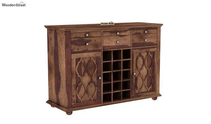 Montana Bar Cabinet (Teak Finish)-2