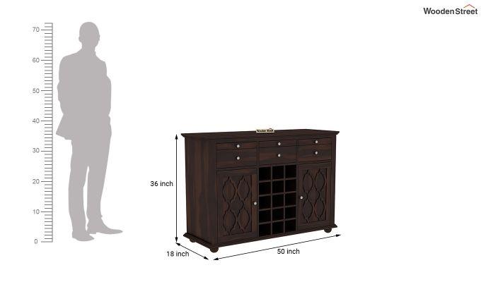 Montana Bar Cabinet (Walnut Finish)-6