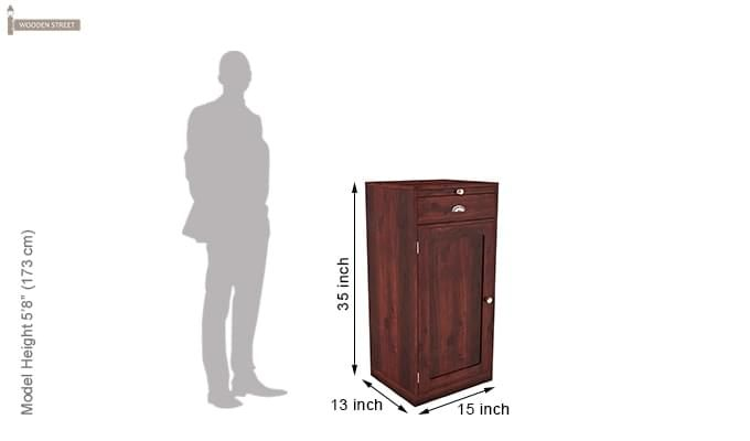 Nevil Bar Cabinet (Mahogany Finish)-5