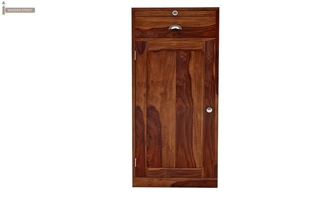 Nevil Bar Cabinet (Teak Finish)-3