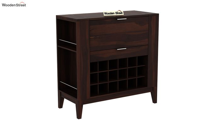Normandy Bar Cabinet (Walnut Finish)-3
