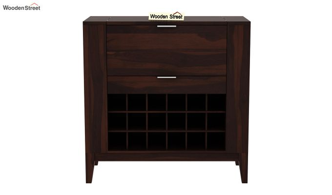 Normandy Bar Cabinet (Walnut Finish)-4