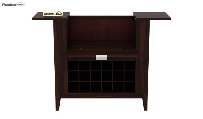 Normandy Bar Cabinet (Walnut Finish)-5