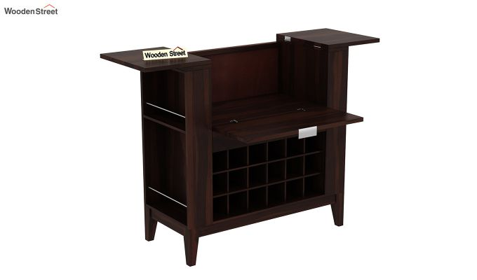Normandy Bar Cabinet (Walnut Finish)-6