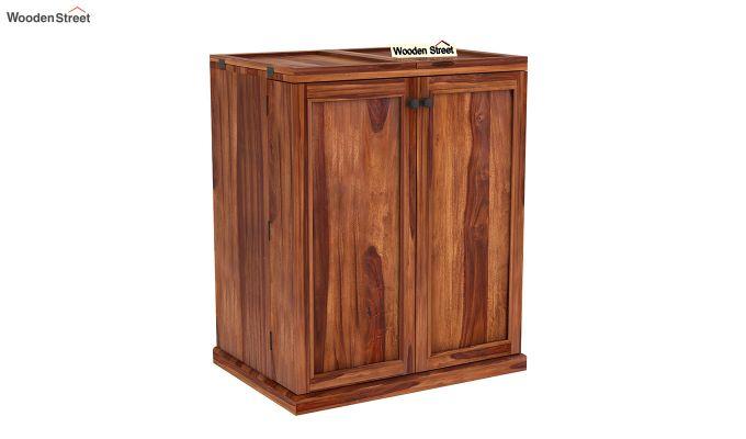Norris Bar Cabinet (Teak Finish)-3