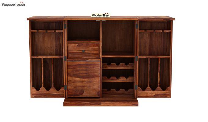 Norris Bar Cabinet (Teak Finish)-6