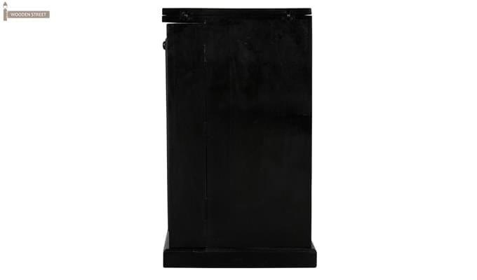 Norris Bar Cabinet (Black Finish)-5