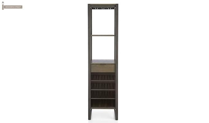 Octanol Bar Cabinet (Black Finish)-4