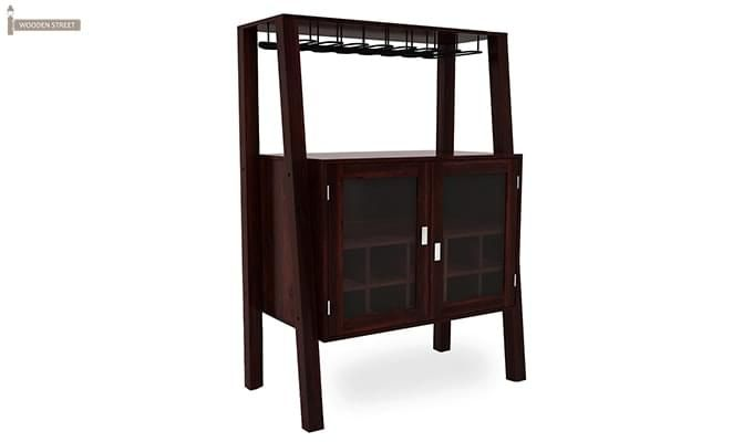 Ortega Bar Cabinet (Mahogany Finish)-1
