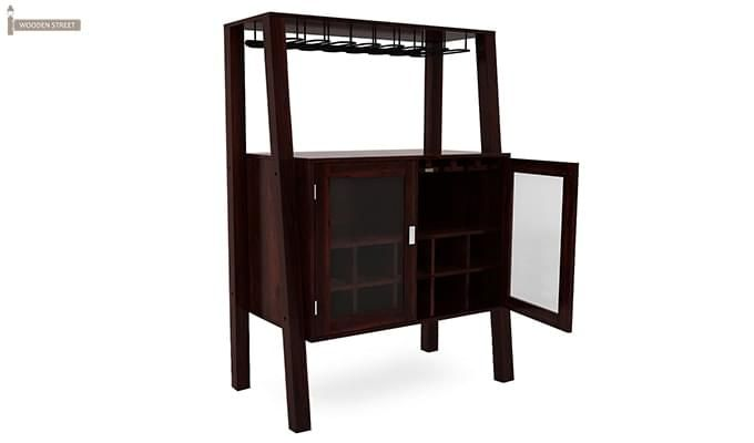 Ortega Bar Cabinet (Mahogany Finish)-2
