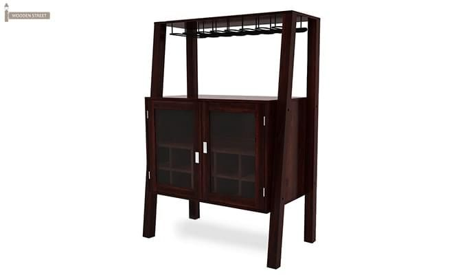 Ortega Bar Cabinet (Mahogany Finish)-4