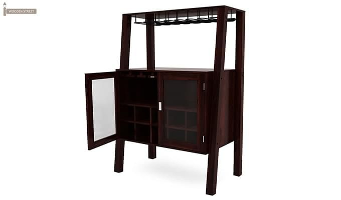 Ortega Bar Cabinet (Mahogany Finish)-5