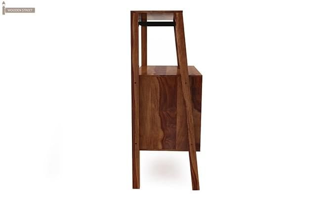 Ortega Bar Cabinet (Teak Finish)-4