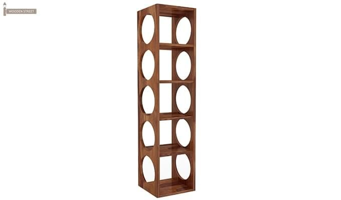 Osborn Wine Rack (Teak Finish)-2
