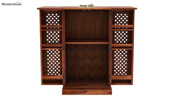 Pavel Bar Cabinet (Teak Finish)-6
