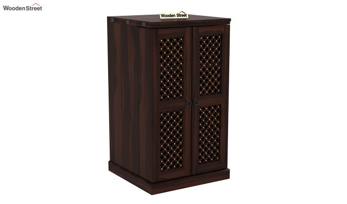 Pavel Bar Cabinet (Walnut Finish)-3