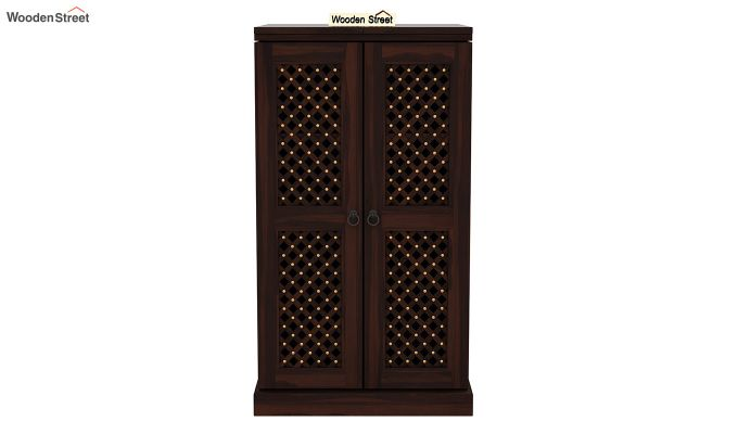 Pavel Bar Cabinet (Walnut Finish)-4