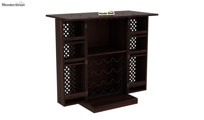 Pavel Bar Cabinet (Walnut Finish)-5
