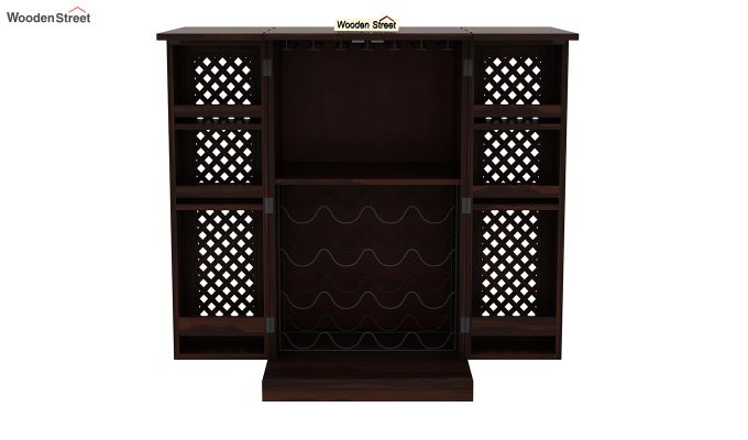 Pavel Bar Cabinet (Walnut Finish)-6