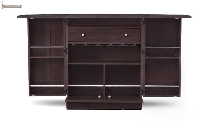Ramon Bar Cabinet (Mahogany Finish)-5