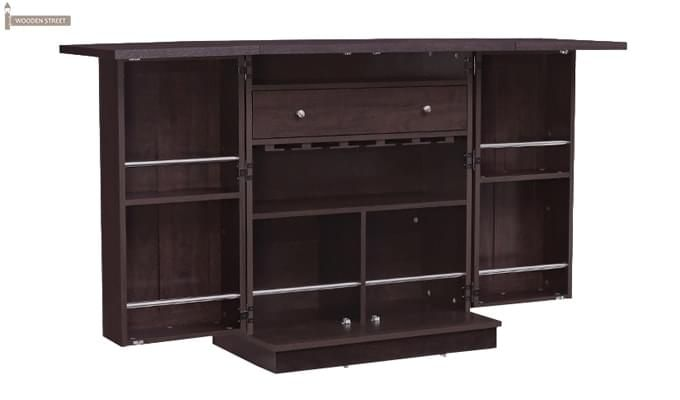 Ramon Bar Cabinet (Mahogany Finish)-6