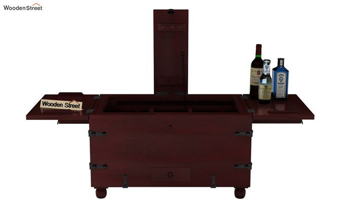 Robina Bar Cabinet (Mahogany Finish)-5