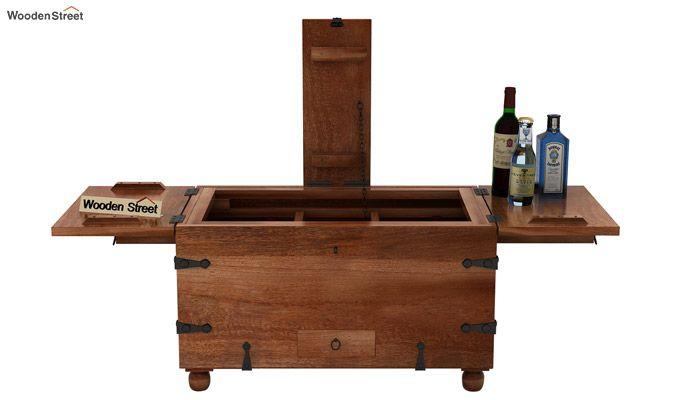 Robina Bar Cabinet (Teak Finish)-6