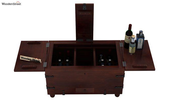 Robina Bar Cabinet (Walnut Finish)-6