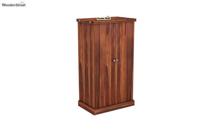 Spence Bar Cabinet (Honey Finish)-2