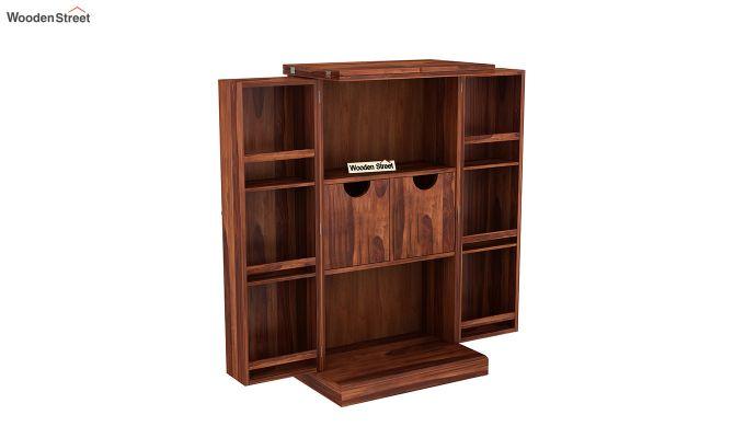 Spence Bar Cabinet (Honey Finish)-4