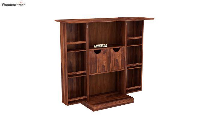 Spence Bar Cabinet (Honey Finish)-6