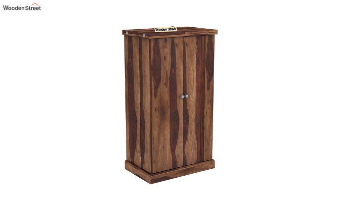 Spence Bar Cabinet (Teak Finish)-2