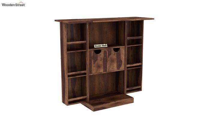 Spence Bar Cabinet (Teak Finish)-6