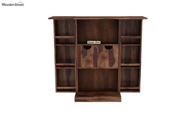 Spence Bar Cabinet (Teak Finish)-7