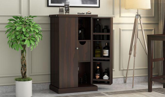 Spence Bar Cabinet (Walnut Finish)-1