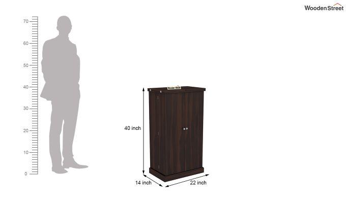 Spence Bar Cabinet (Walnut Finish)-8