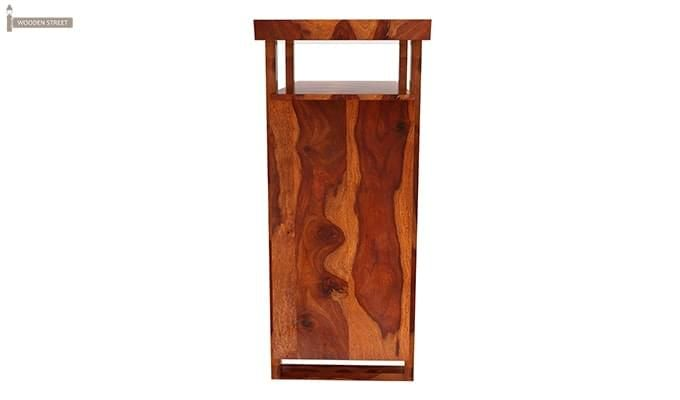 Taran Bar Cabinet (Teak Finish)-5