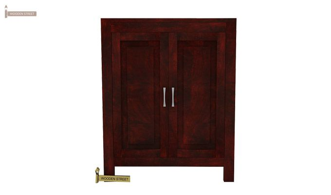 Toby Bar Cabinet (Mahogany Finish)-2