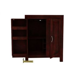 Toby Bar Cabinet (Mahogany Finish)