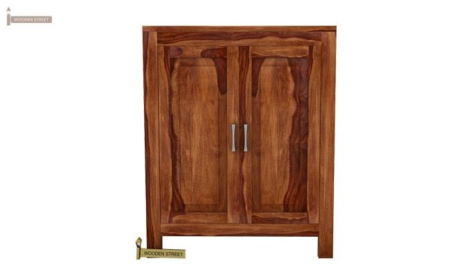 Toby Bar Cabinet (Teak Finish)-3