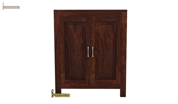 Toby Bar Cabinet (Walnut Finish)-2