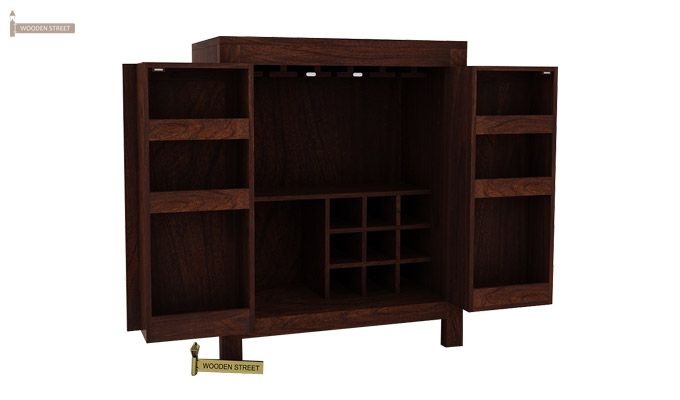 Toby Bar Cabinet (Walnut Finish)-4