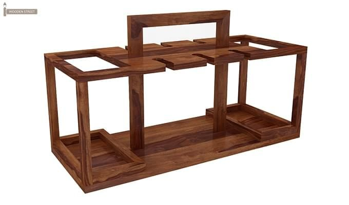 Villegas Bar Cabinet (Teak Finish)-2