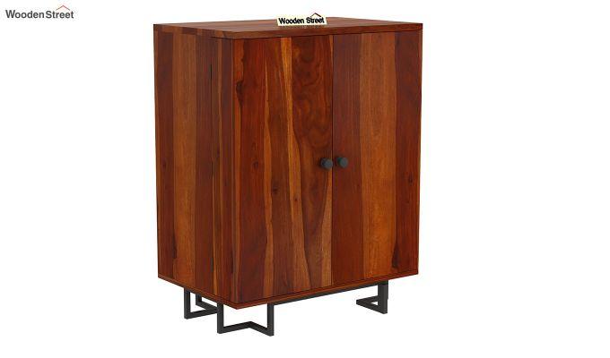 Zimer Bar Cabinet (Honey Finish)-3